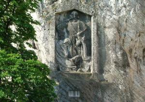 Reliéf Jána Jiskru z Brandýsa. Foto: Jozef Čery