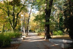 Park M. R. Štefánika. Foto: Jozef Čery
