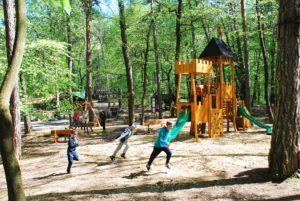 Detské lesné ihrisko KIOSK na Brezine
