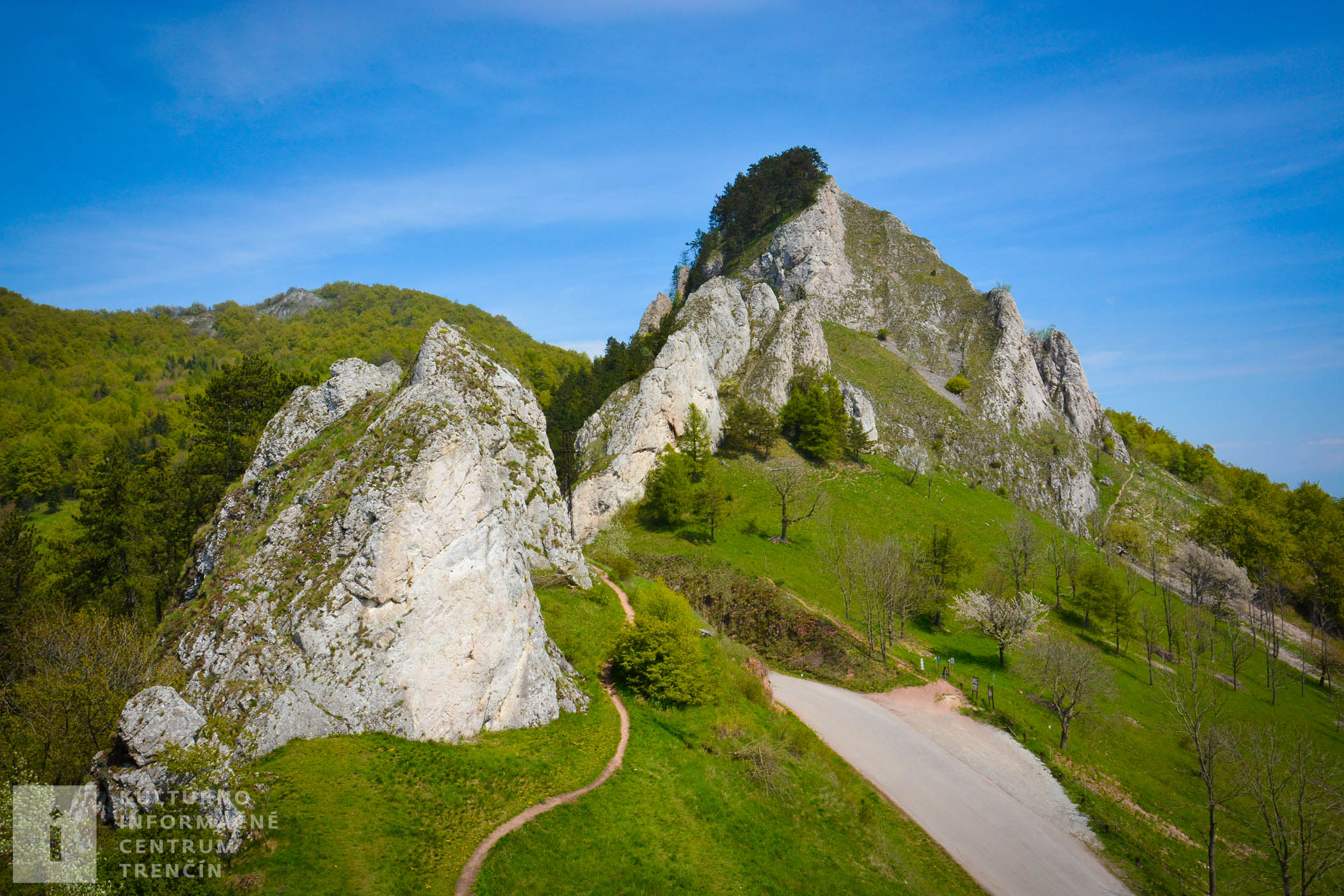 Vršatské bradlá/Cliffs of Vršatec