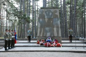 Pamätník umučených na Brezine. Foto: Jozef Čery