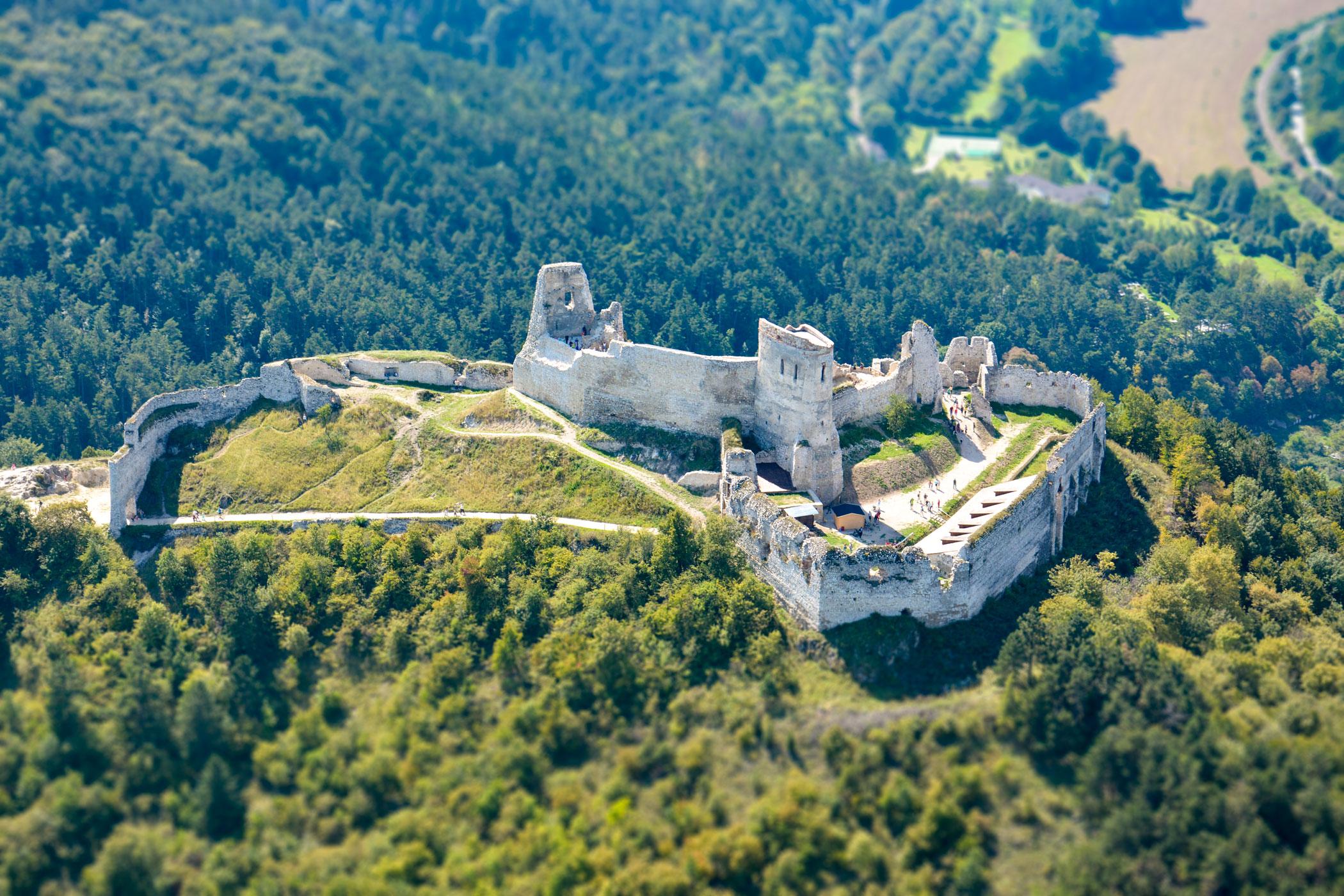 Čachtický hrad/Čachtice Castle