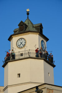 Návštevníci Mestskej veže