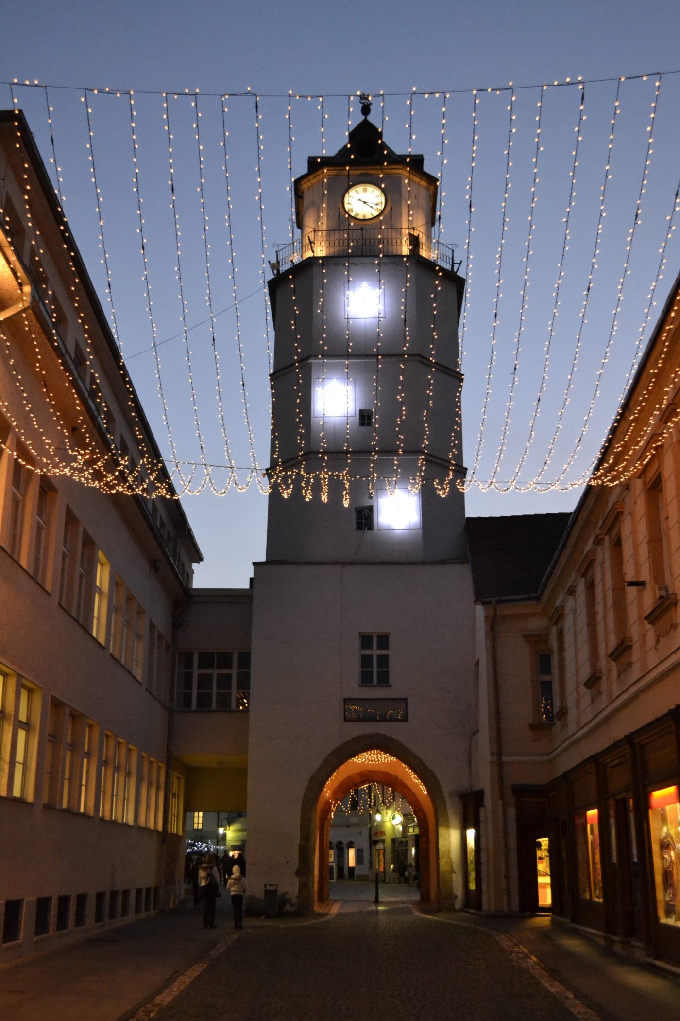 Vianočná Mestská veža