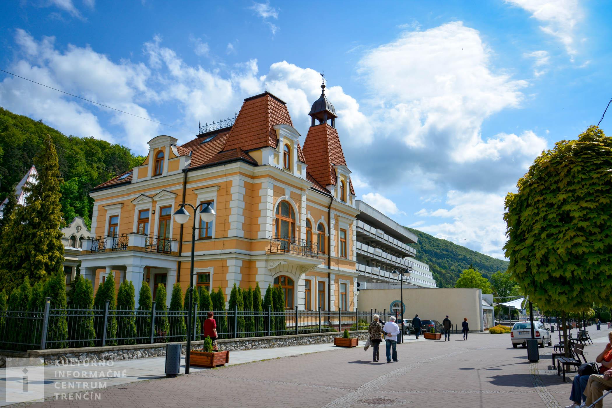Kúpeľné mesto Trenčianske Teplice/Spa town Trenčianske Teplice