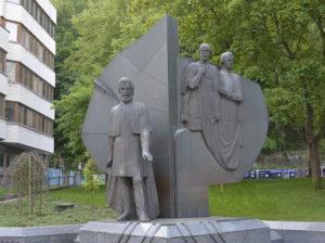 Pamätník národných buditeľov – Ľ. Štúra, J. M. Hurbana a M. M. Hodžu