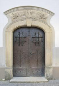 Portál evanjelického kostola