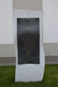 Pamätník Martinovi Lutherovi pri príležitosti 500. výročia reformácie.
