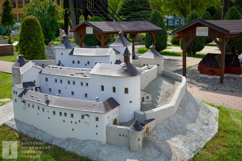 Model hradu Krásna Hôrka