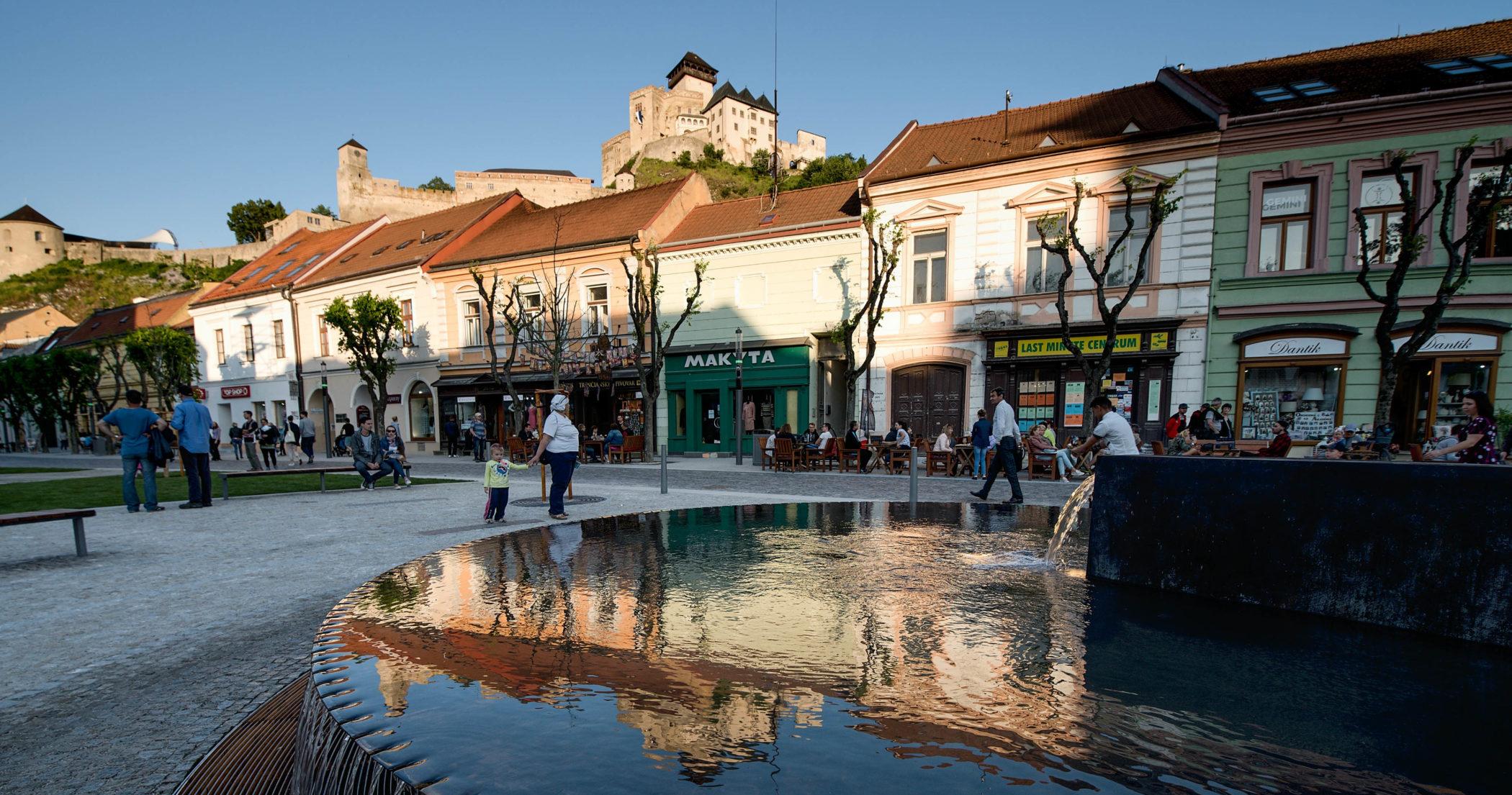 Mierové námestie Trenčín