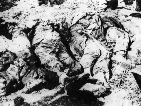 Exhumácia hrobov obetí nemeckých okupantov