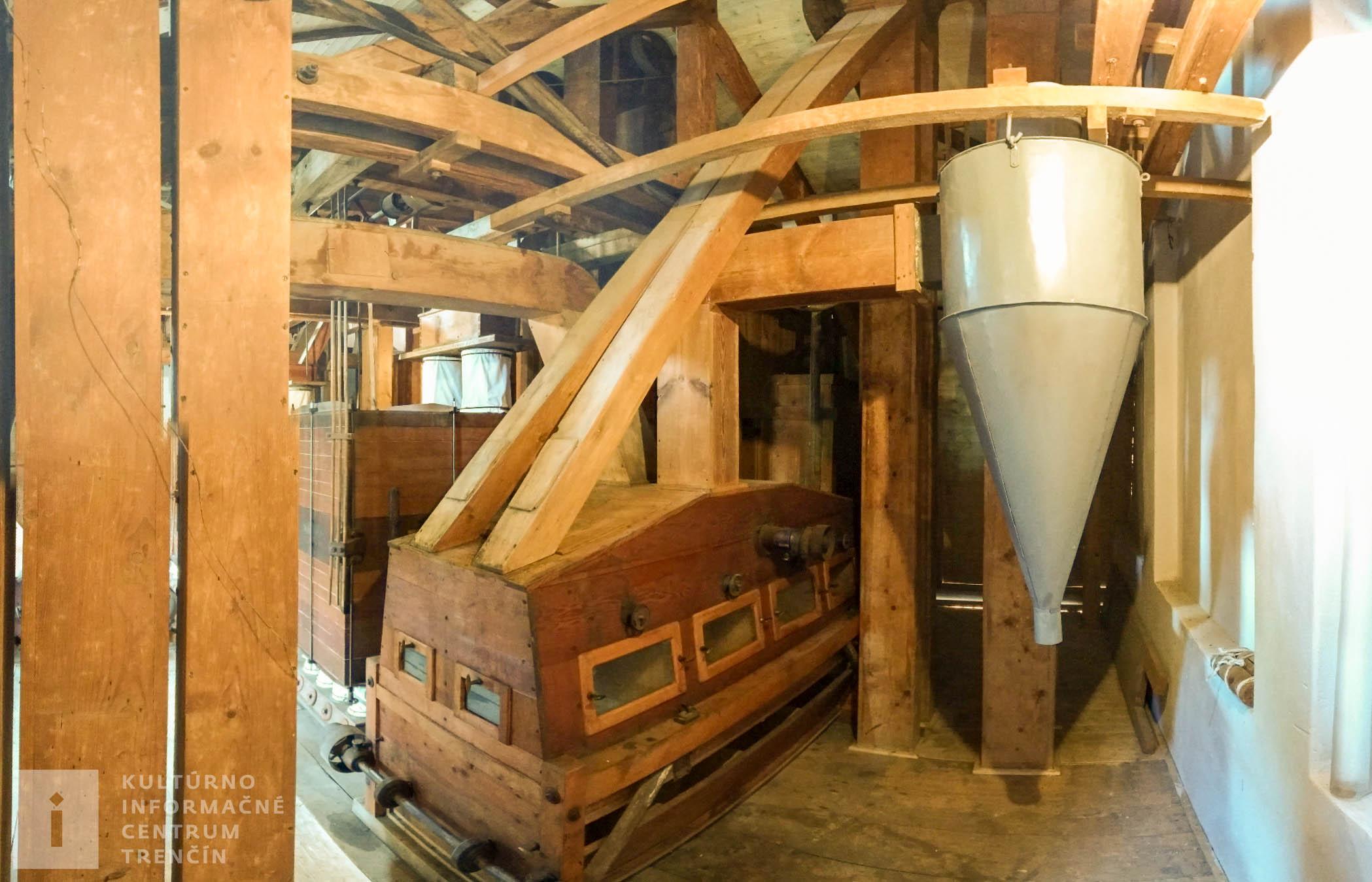 Interiér Králikovho mlyna