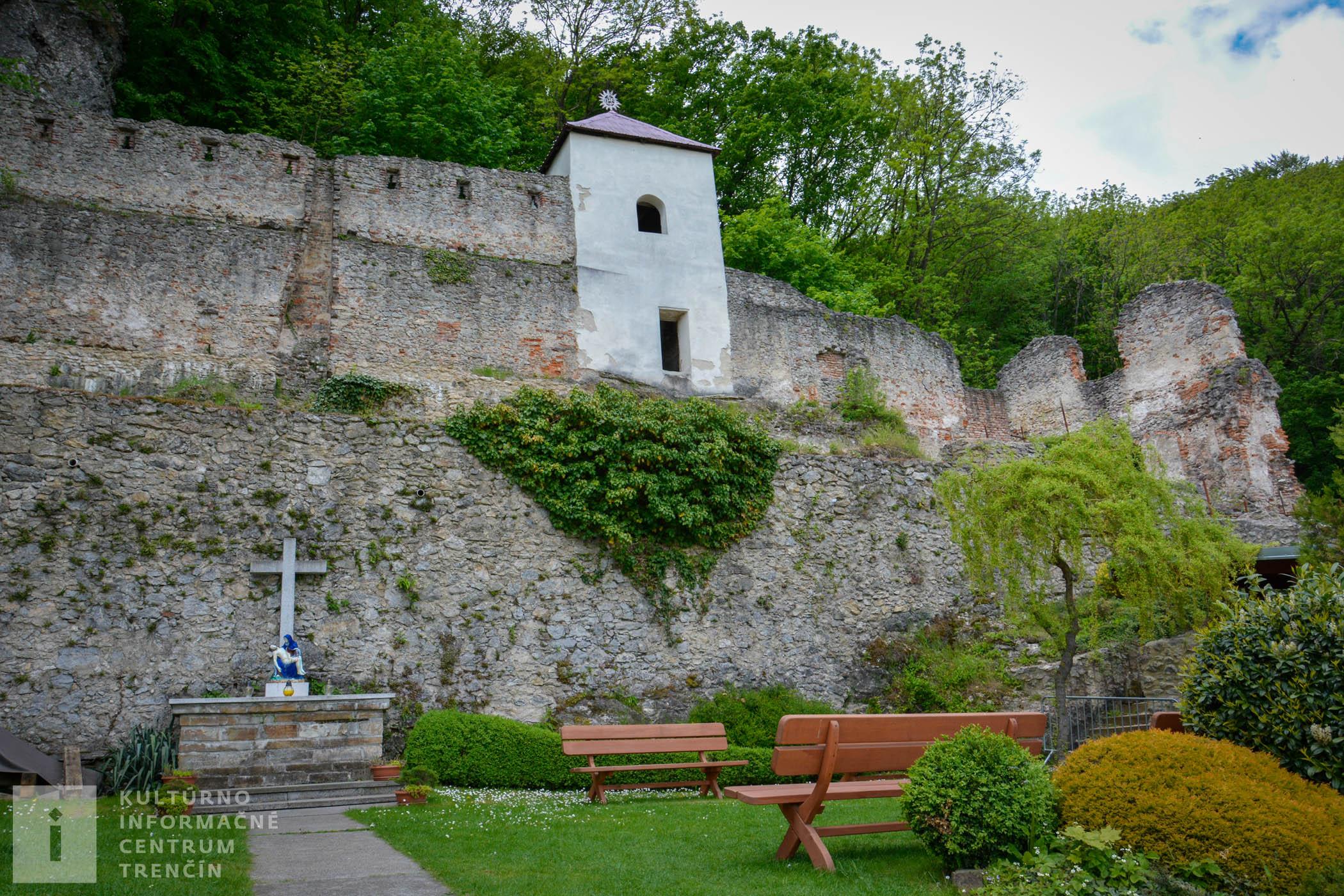 Areál kláštora na Veľkej Skalke