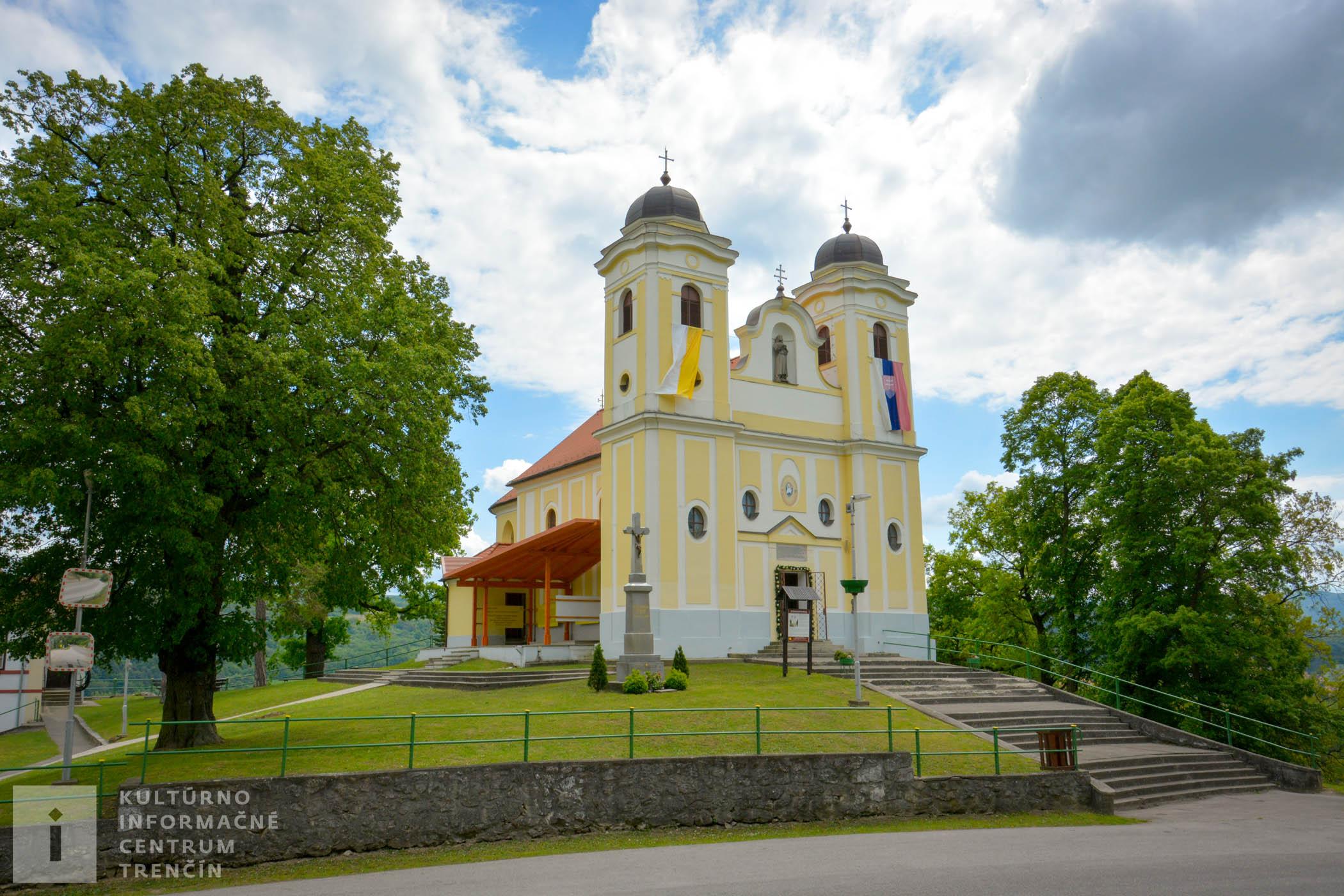 Diecézna svätyňa na Malej Skalke / Church Malá Skalka