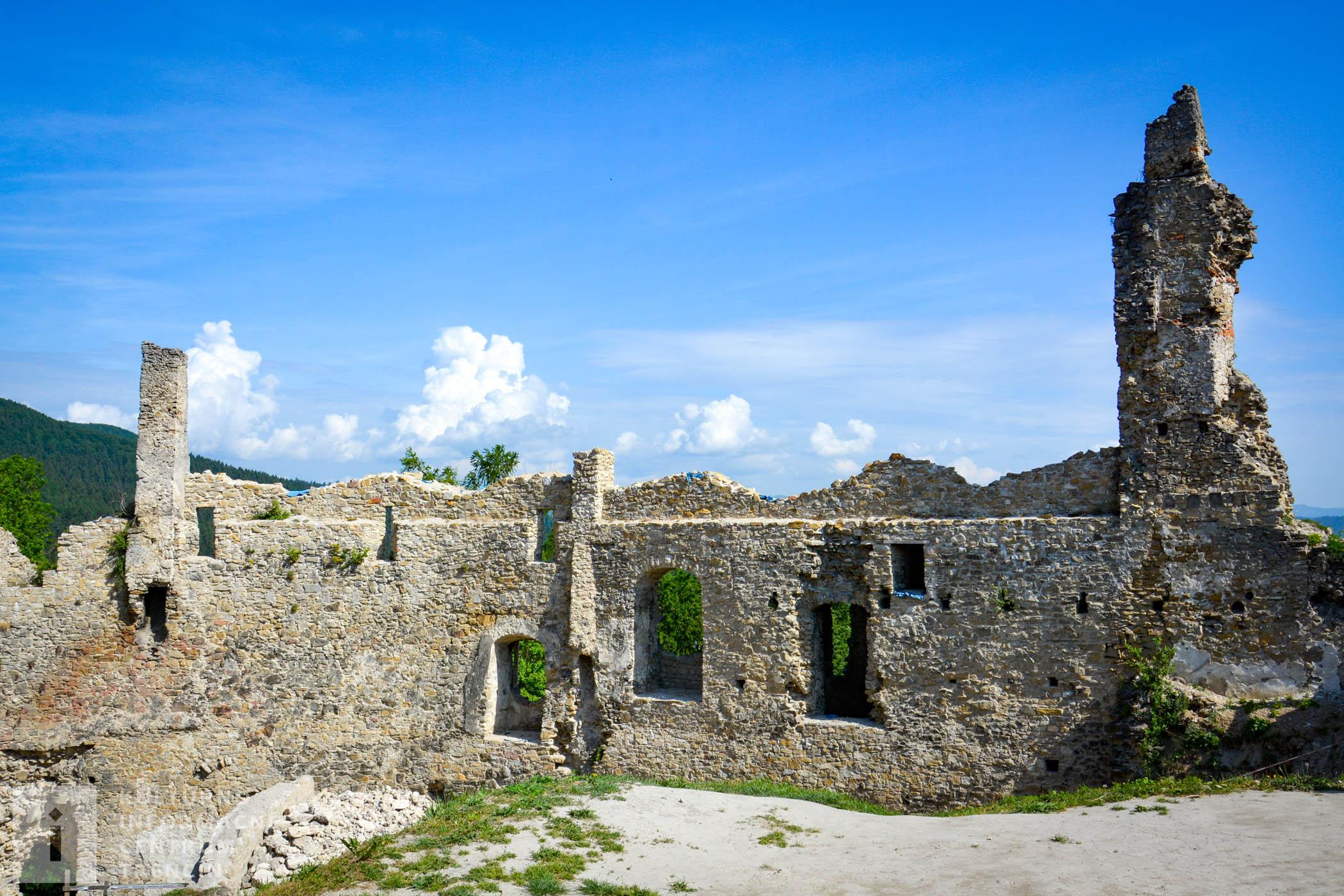 Medzi najvýznamnejších vlastníkov hradu patril rod Podmanických. Neslávne známi sú najmä bratia Ján a Rafael Podmanickí, drsní a nenásytní rytieri, ktorí trávili čas najmä lúpežnými výpravami a divokými oslavami.