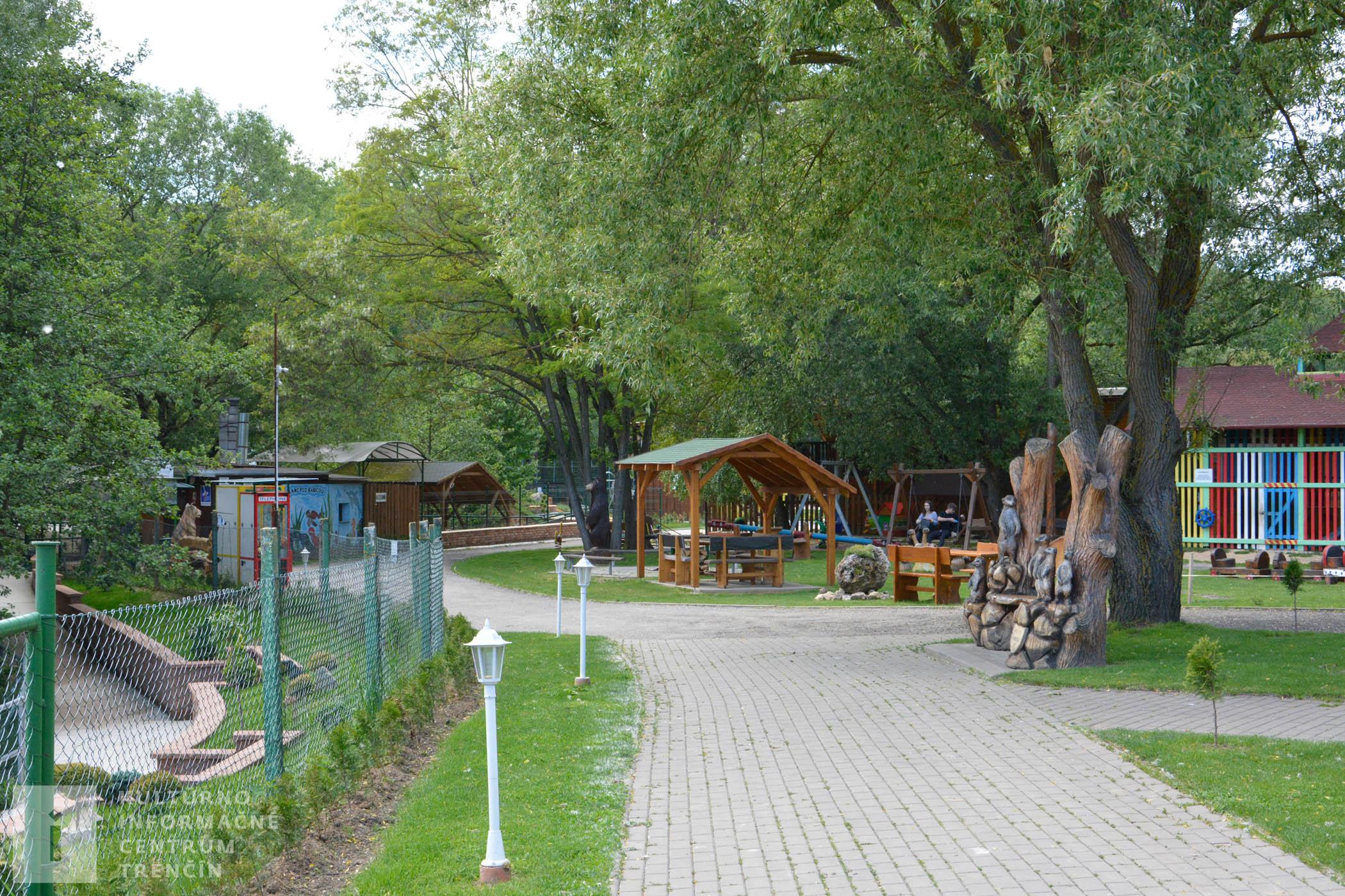 Areál Ranča pod Babicou ponúka príjemné prostredie pre kohokoľvek bez ohľadu na vek