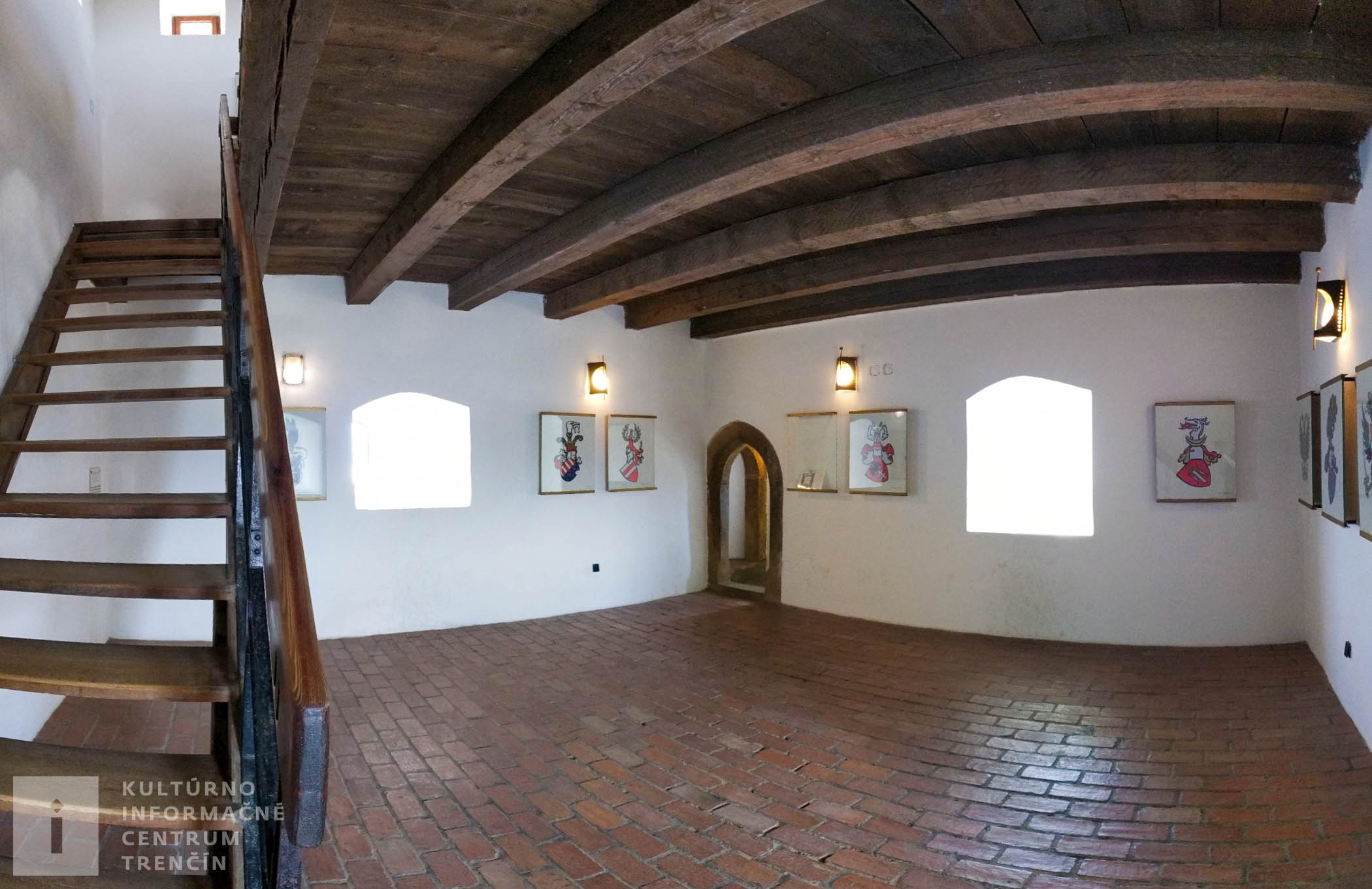 Interiér Trenčianskeho hradu