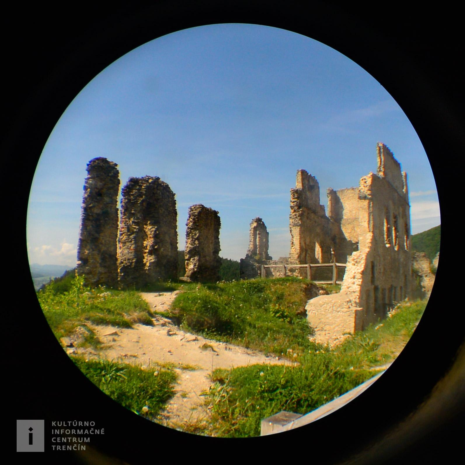 Považský hrad, nazývaný aj Bystrický alebo Bystrica sa nachádza v blízskosti Považskej Bystrice.