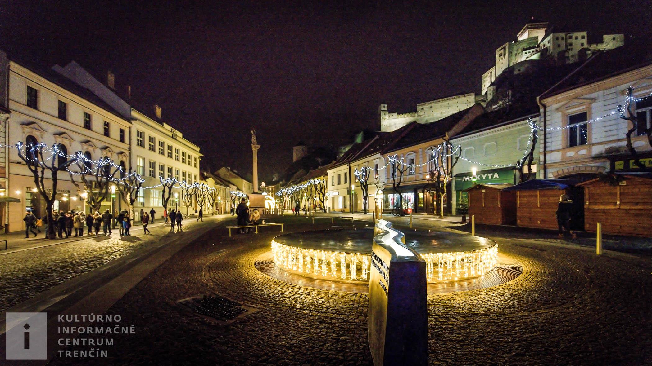 Mierové námestie, fontána