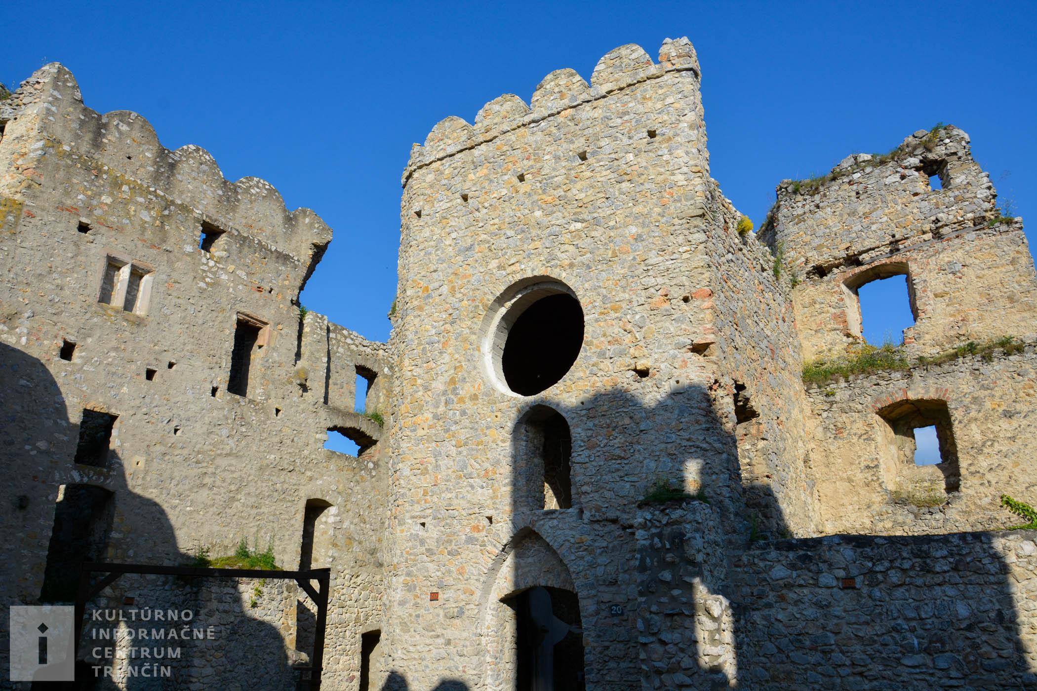 Kaplnka na hrade Beckov