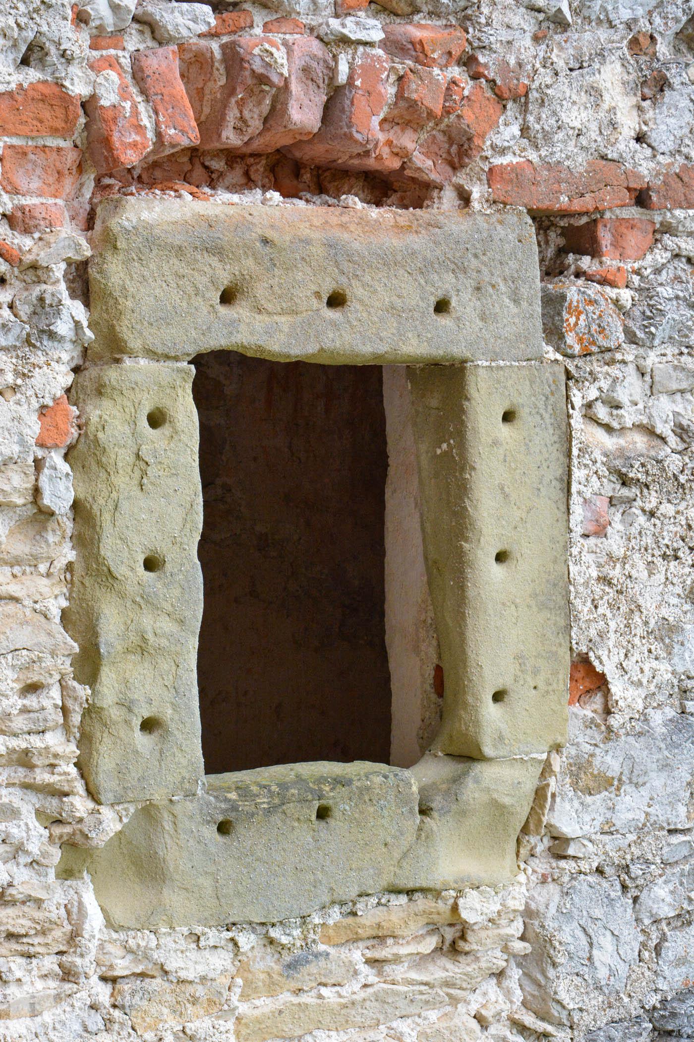 Nádvorie hradu Uhrovec/Court of Castle Uhrovec