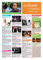 KAM v Trenčíne - august 2015