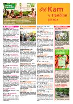 KAM v Trenčíne - júl 2017