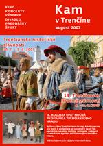 KAM v Trenčíne - august 2007