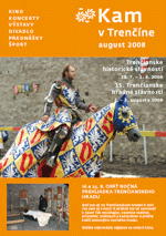 KAM v Trenčíne - august 2008
