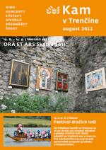 KAM v Trenčíne - august 2011