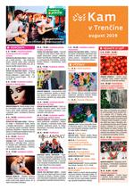 KAM v Trenčíne - august 2019