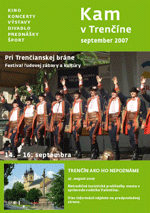 KAM v Trenčíne - september 2007
