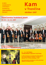 KAM v Trenčíne - október 2007