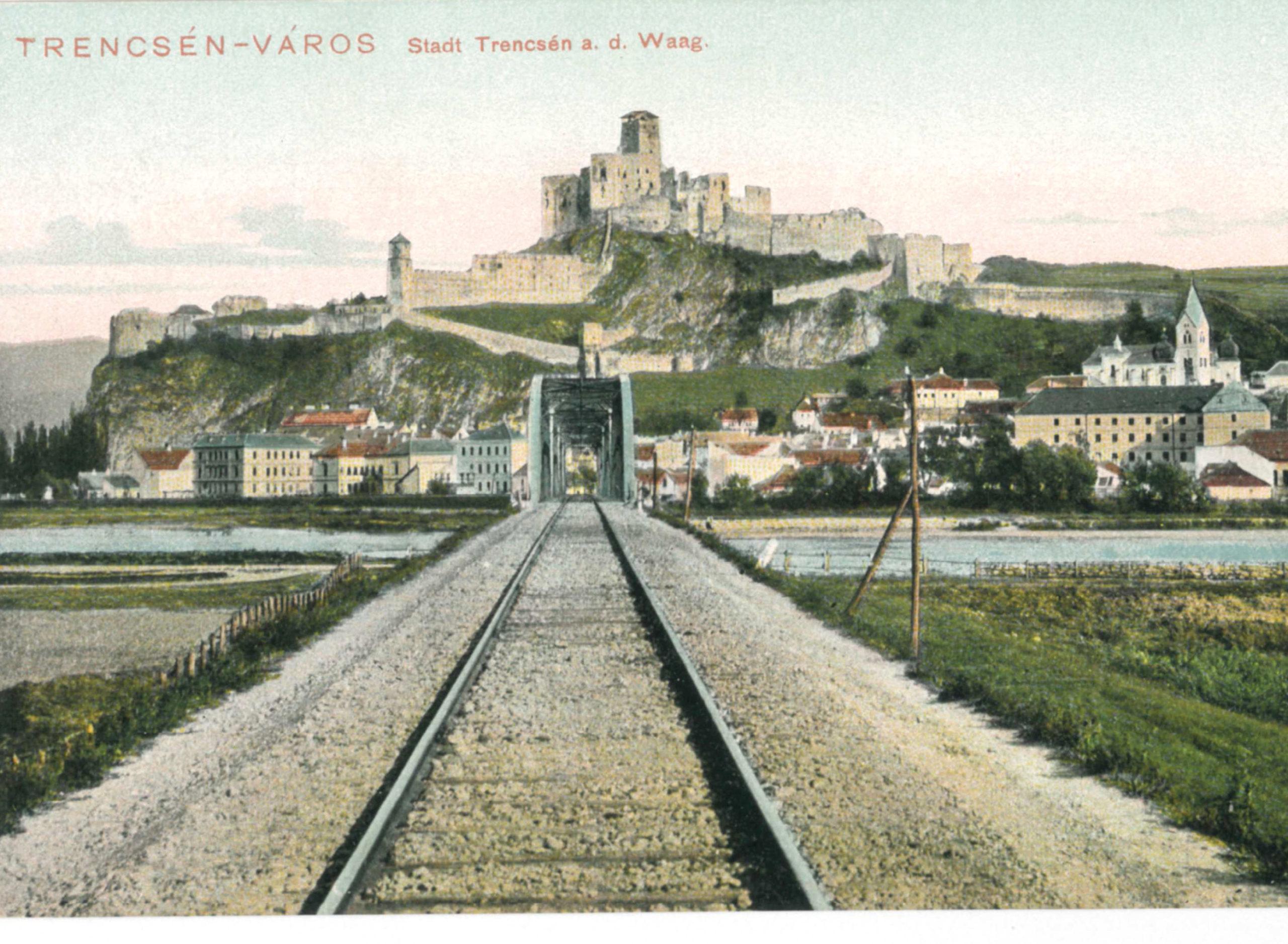 Trenčín na prelome 19. a 20. storočia