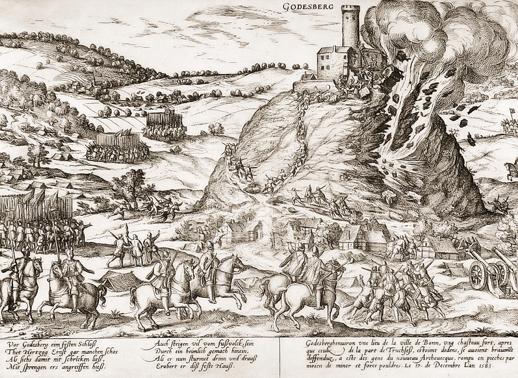 Dobývanie hradu Godesburg