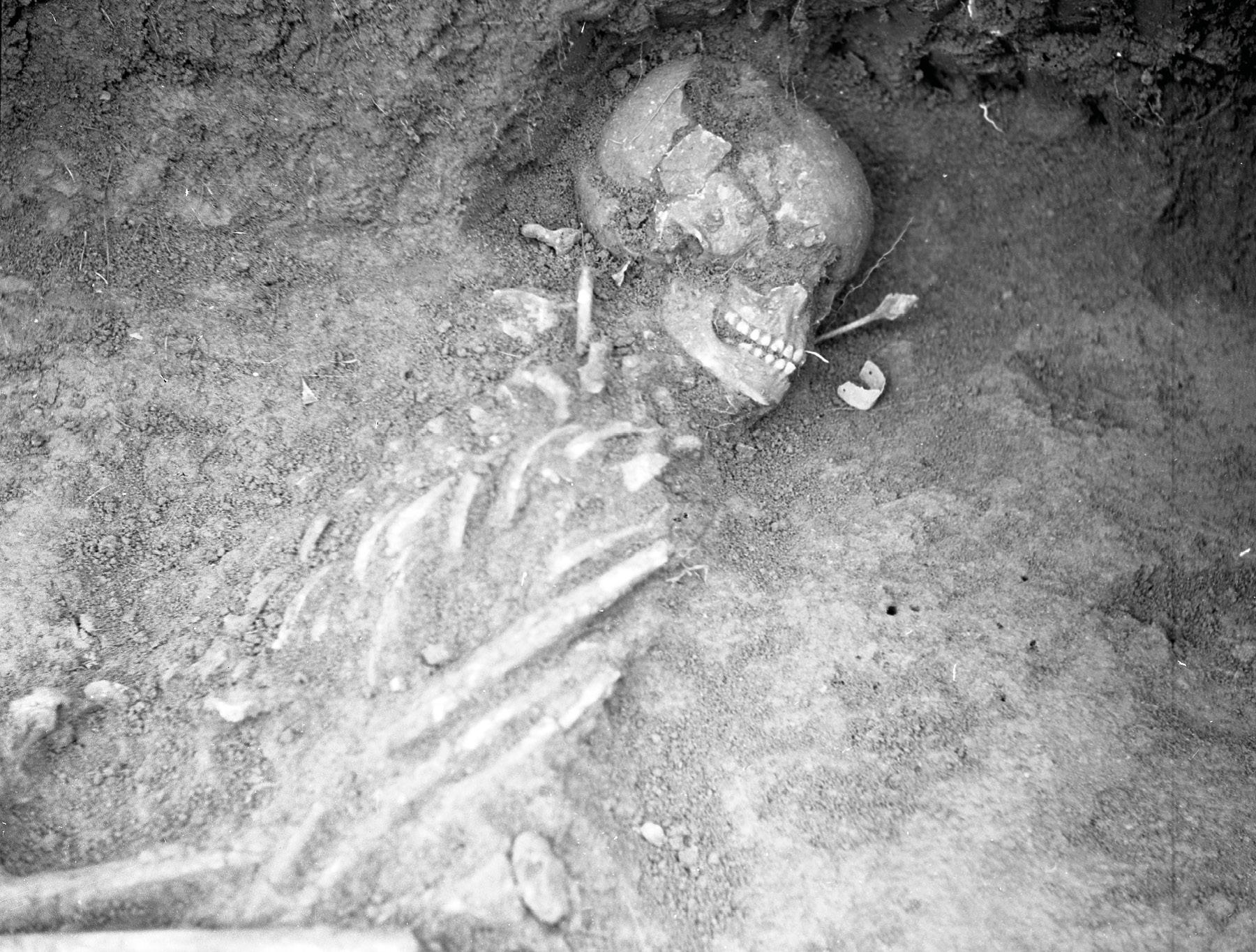 Hrob dievčaťa zo staršej doby bronzovej