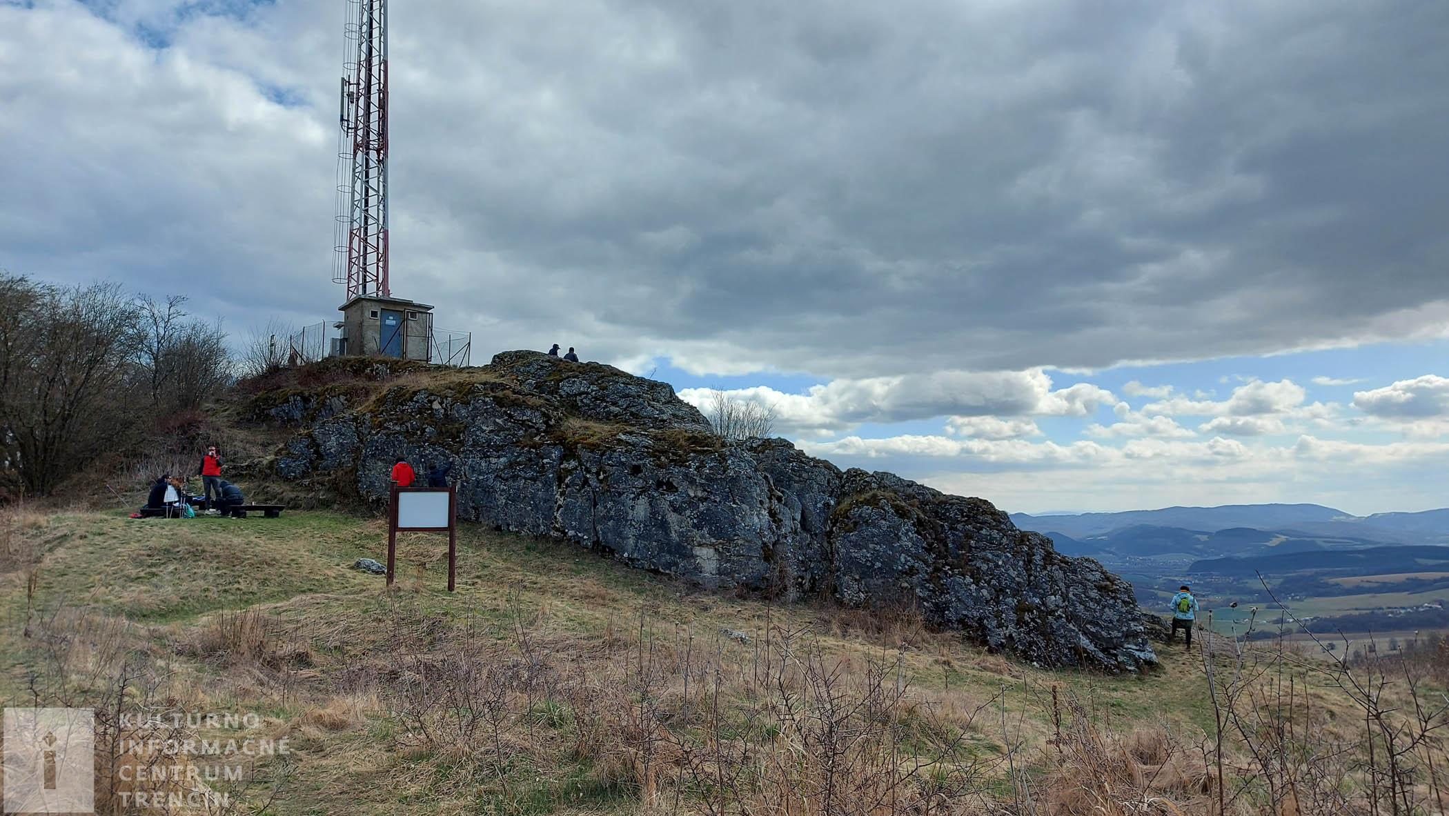 Najvyšší bod vrchu Krasín