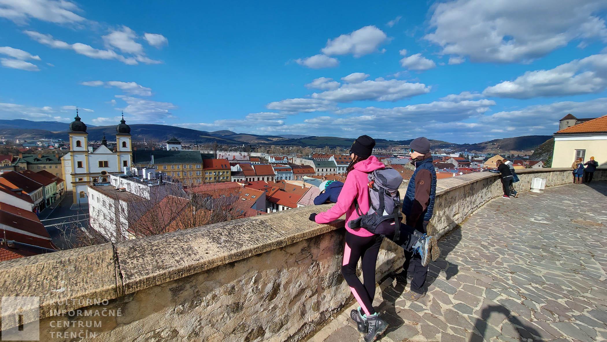 Výhľad na mesto z Mariánskeho námestia